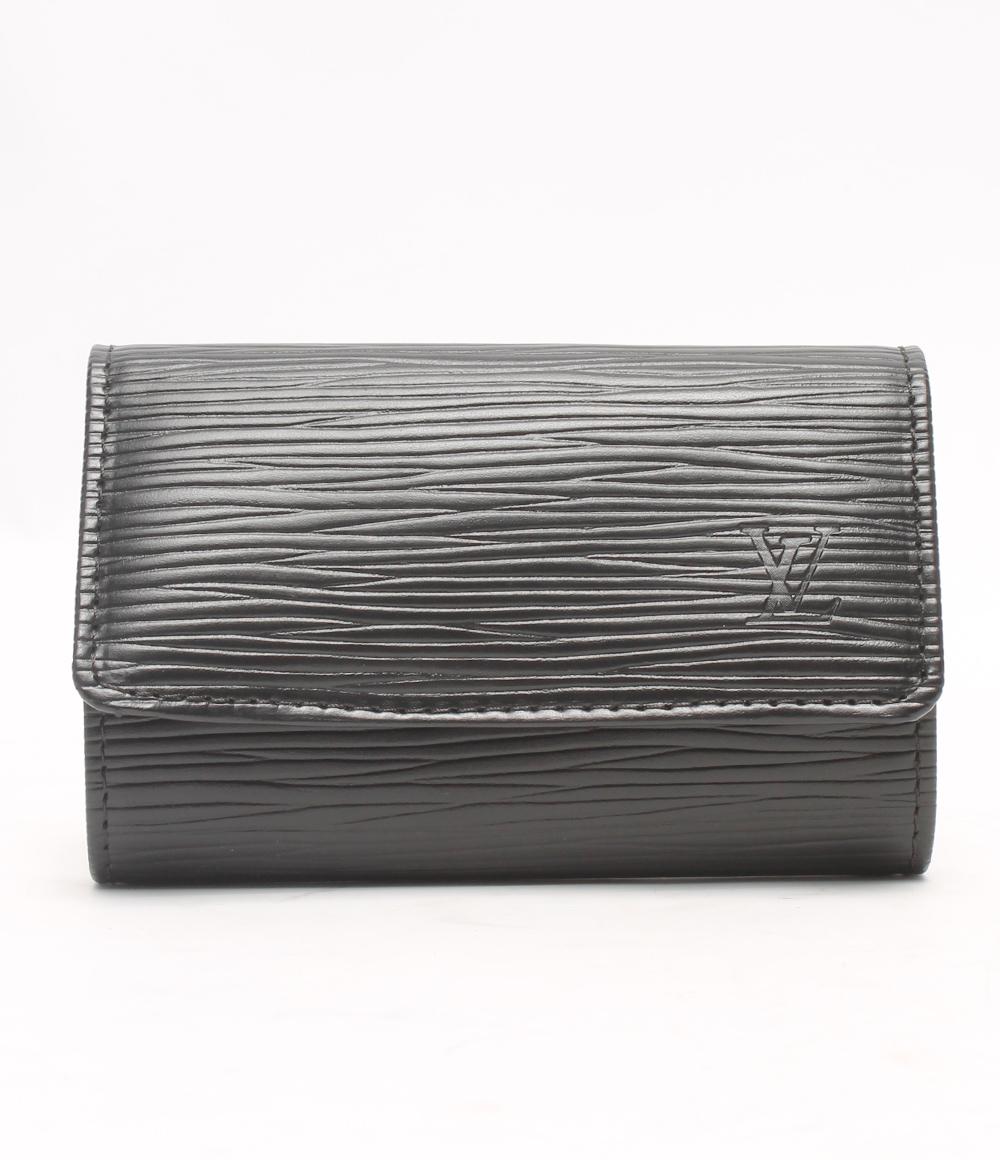 美品 ルイヴィトン キーケース 6連 ミュルティクレ6 エピ M63812 Louis Vuitton メンズ 【中古】