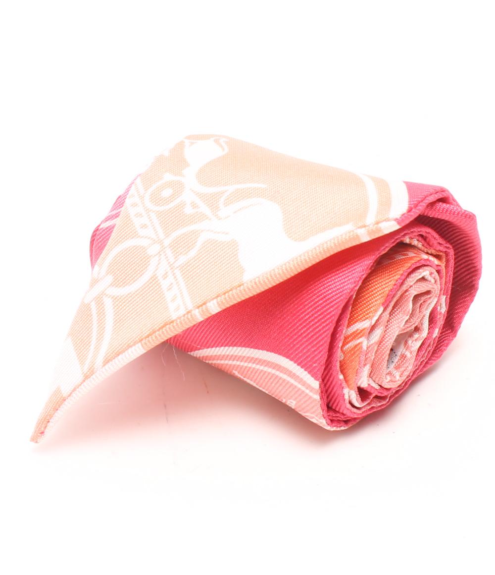 美品 エルメス ツイリー シルク スカーフ HERMES レディース 【中古】
