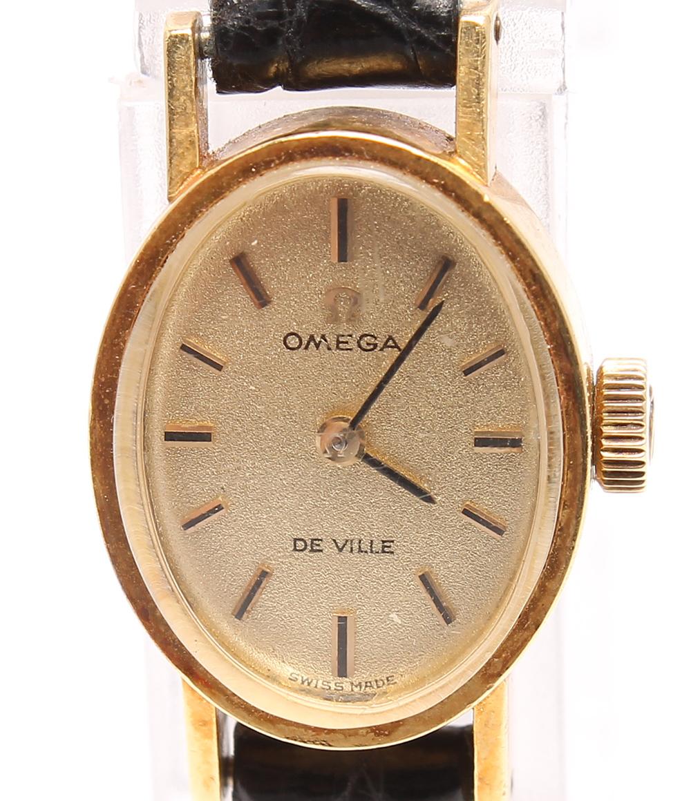 オメガ 腕時計 YGK18(ケース) デビル 手動巻き OMEGA レディース 【中古】