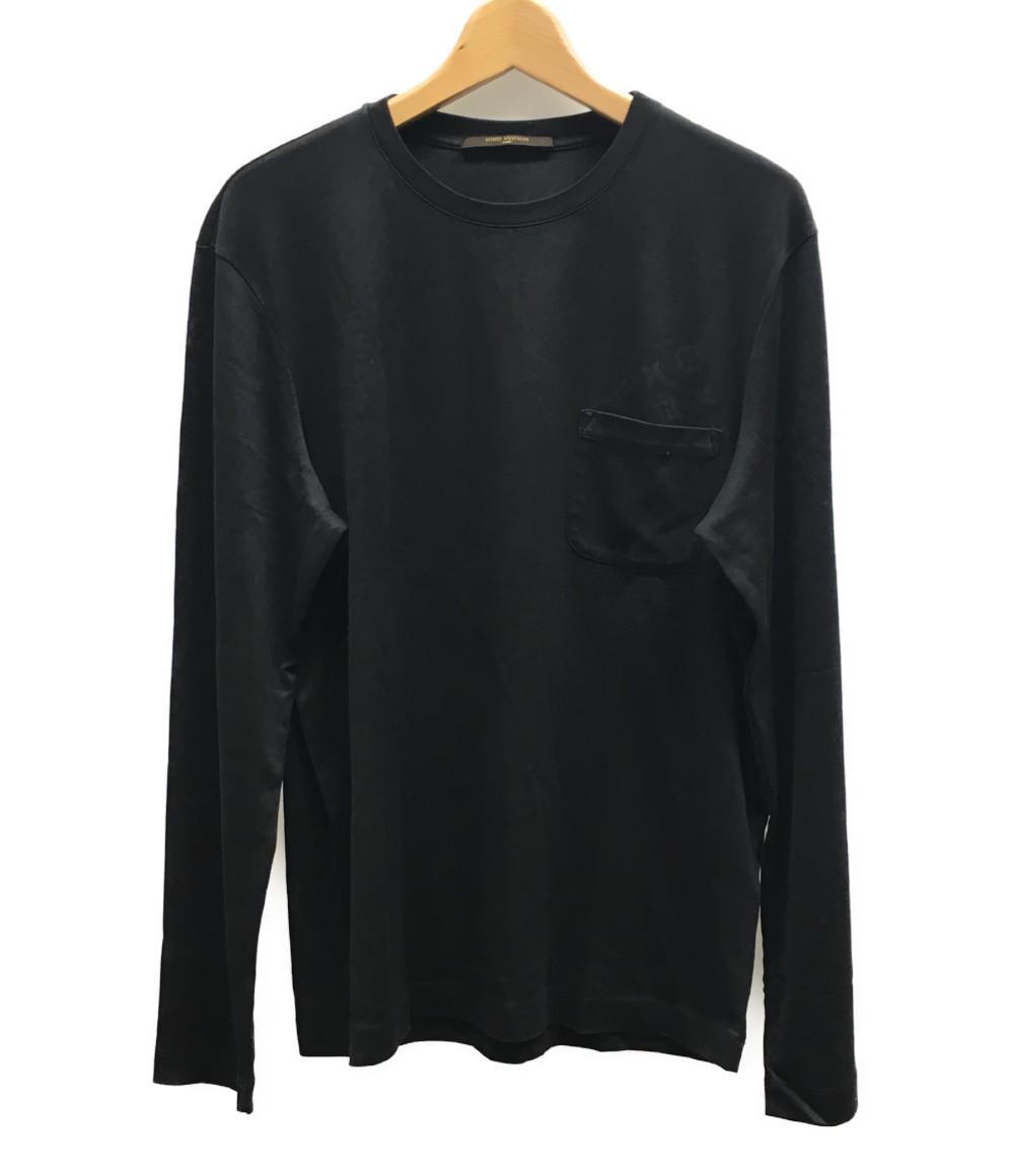 ルイヴィトン SIZE M (M) モノグラムプリント 長袖Tシャツ Louis Vuitton メンズ 【中古】