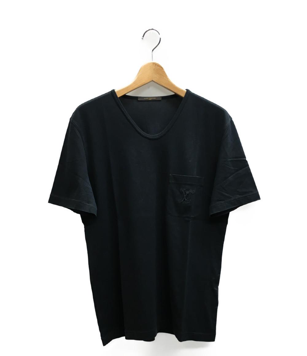 ルイヴィトン SIZE M (M) LVロゴ 半袖Tシャツ Louis Vuitton メンズ 【中古】