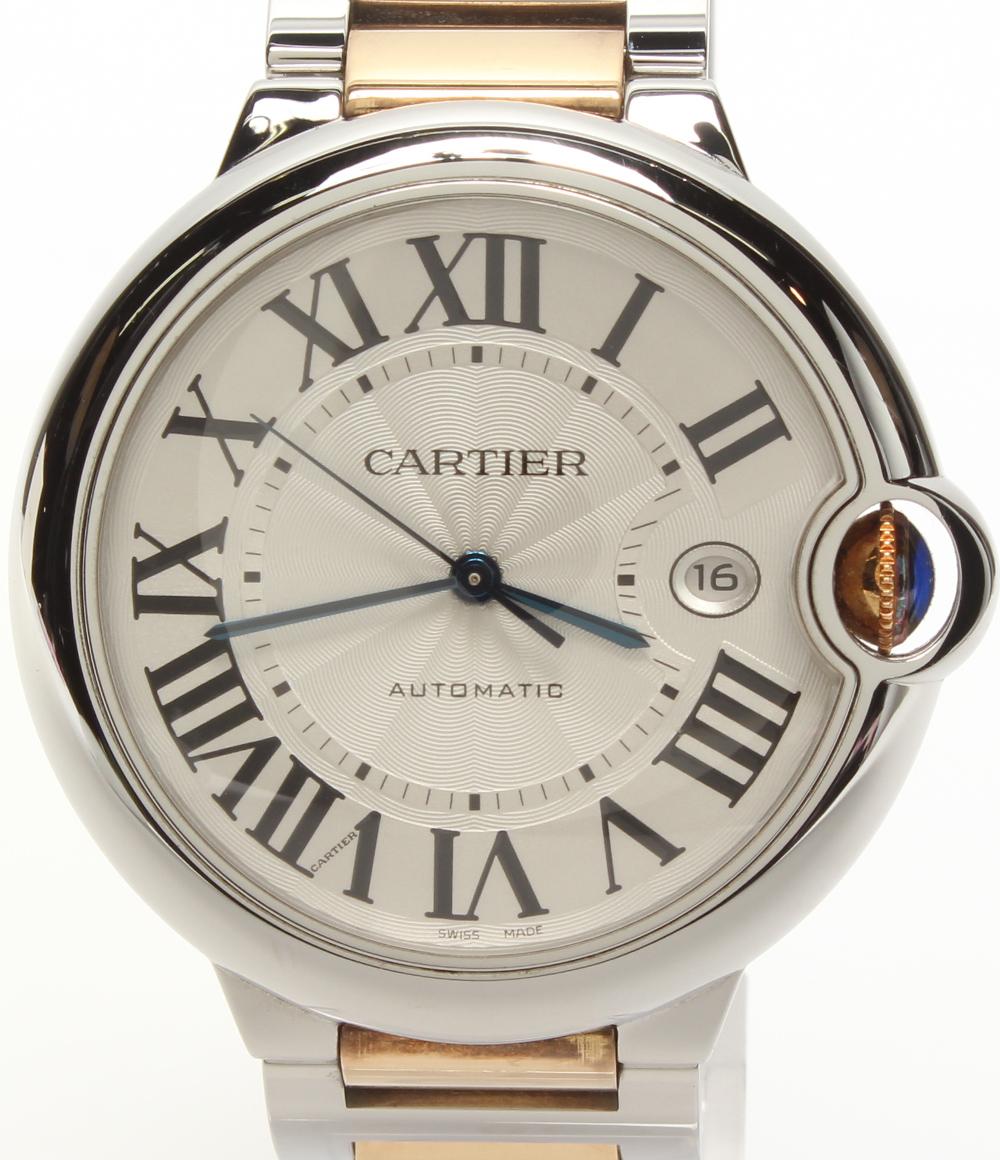 カルティエ 腕時計 バロンブルーLM W69009Z3 自動巻き Cartier メンズ 【中古】