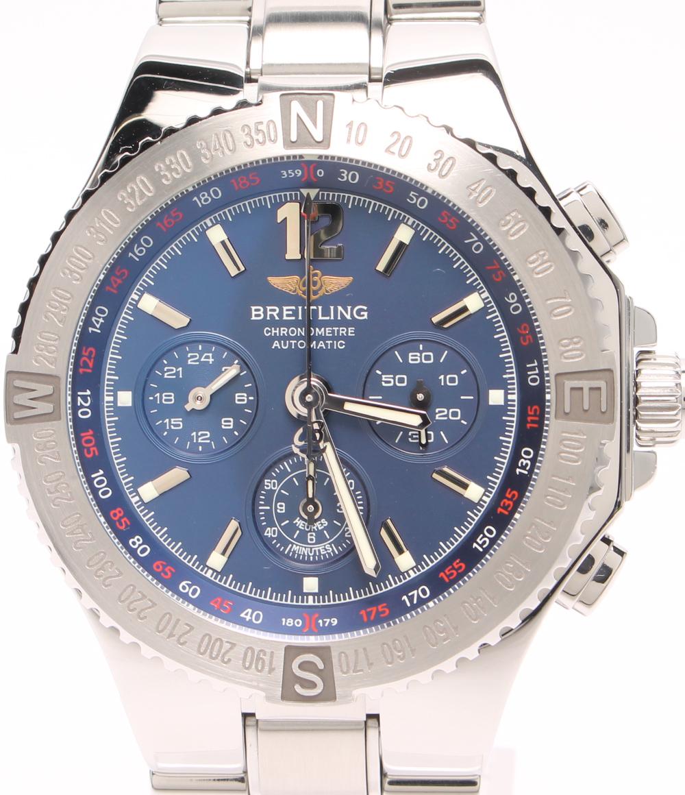 ブライトリング 腕時計 ハーキュリーズ クロノグラフ A39362 自動巻き BREITLING メンズ 【中古】