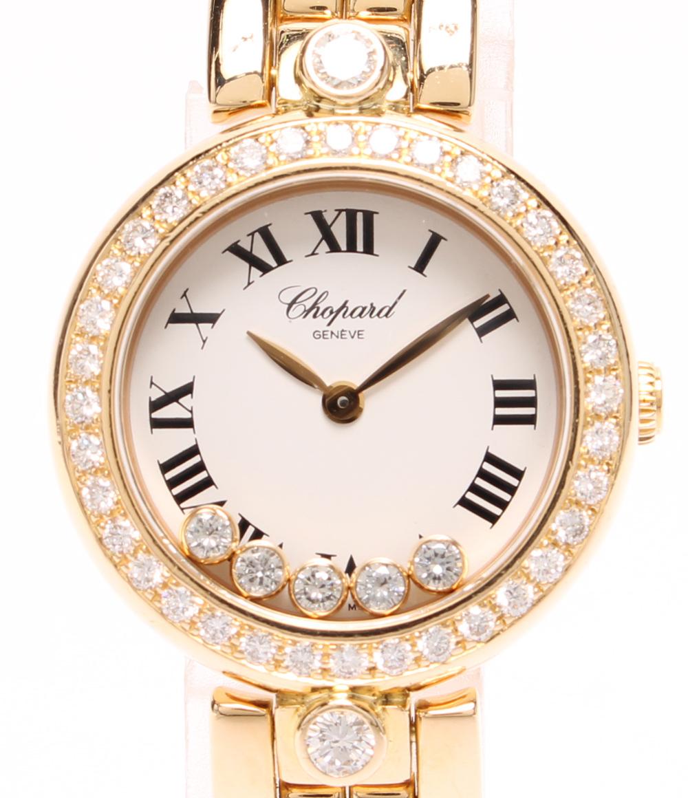 新しいスタイル 【】ショパール 腕時計 ハッピーダイヤモンド 20/6529 クォーツ ホワイト chopard レディース, ジャスト インテリア fbcd101c
