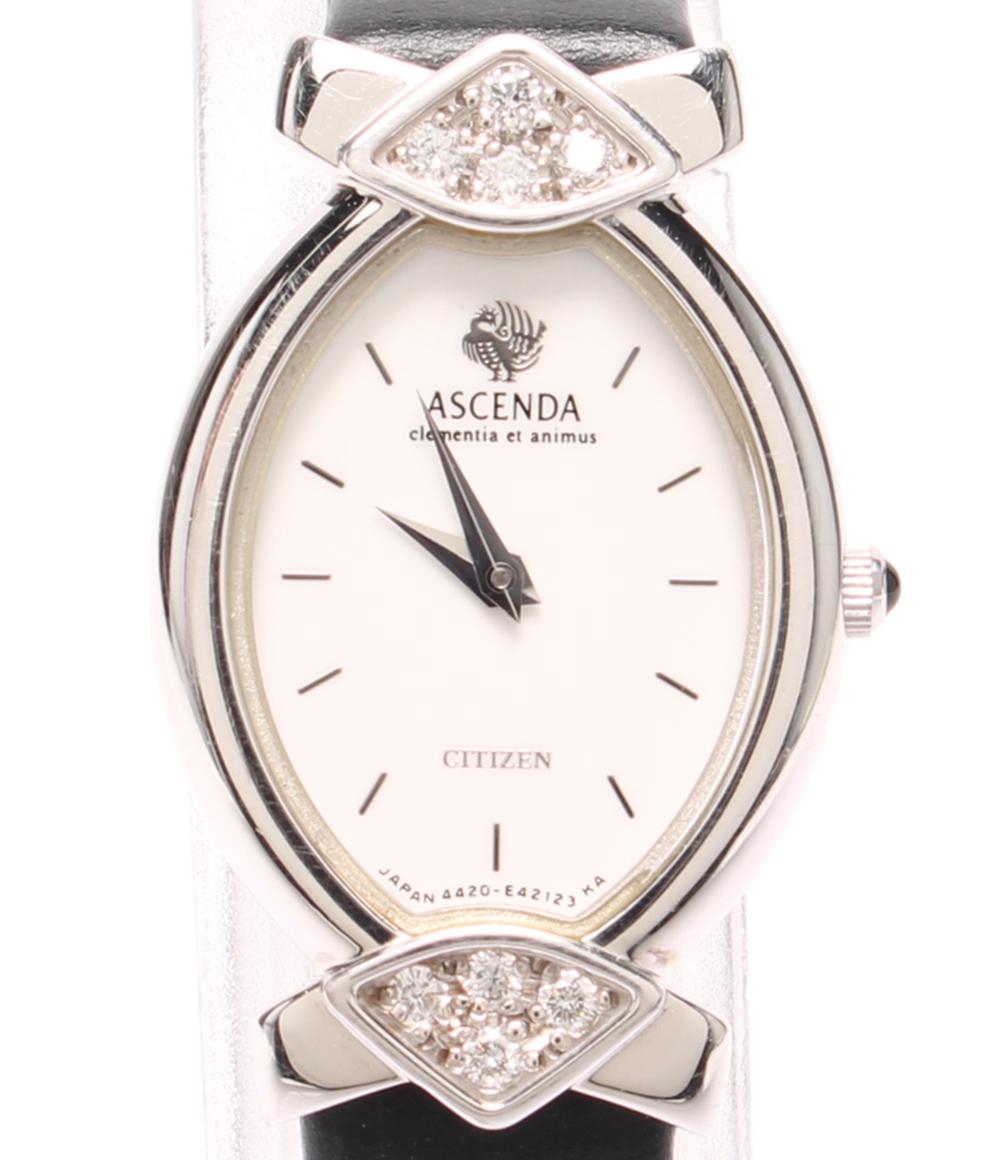 【半額】 【】シチズン 腕時計 クォーツ ホワイト CITIZEN レディース, 秦荘町 ffe02eee