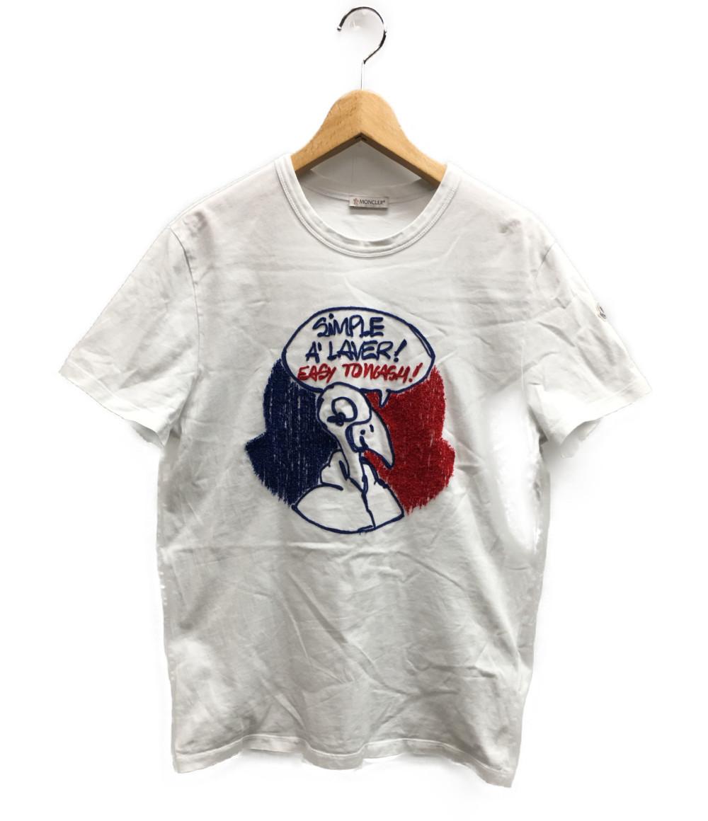 美品 モンクレール SIZE M (M) 18SS モンダック 刺繍 Tシャツ MONCLER メンズ 【中古】