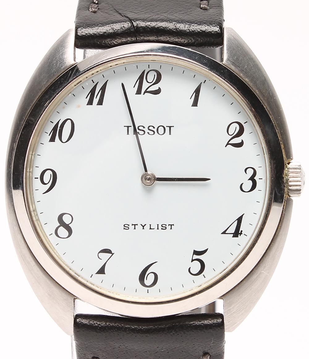 ティソ 腕時計 スタイリスト 手動巻き TISSOT メンズ 【中古】