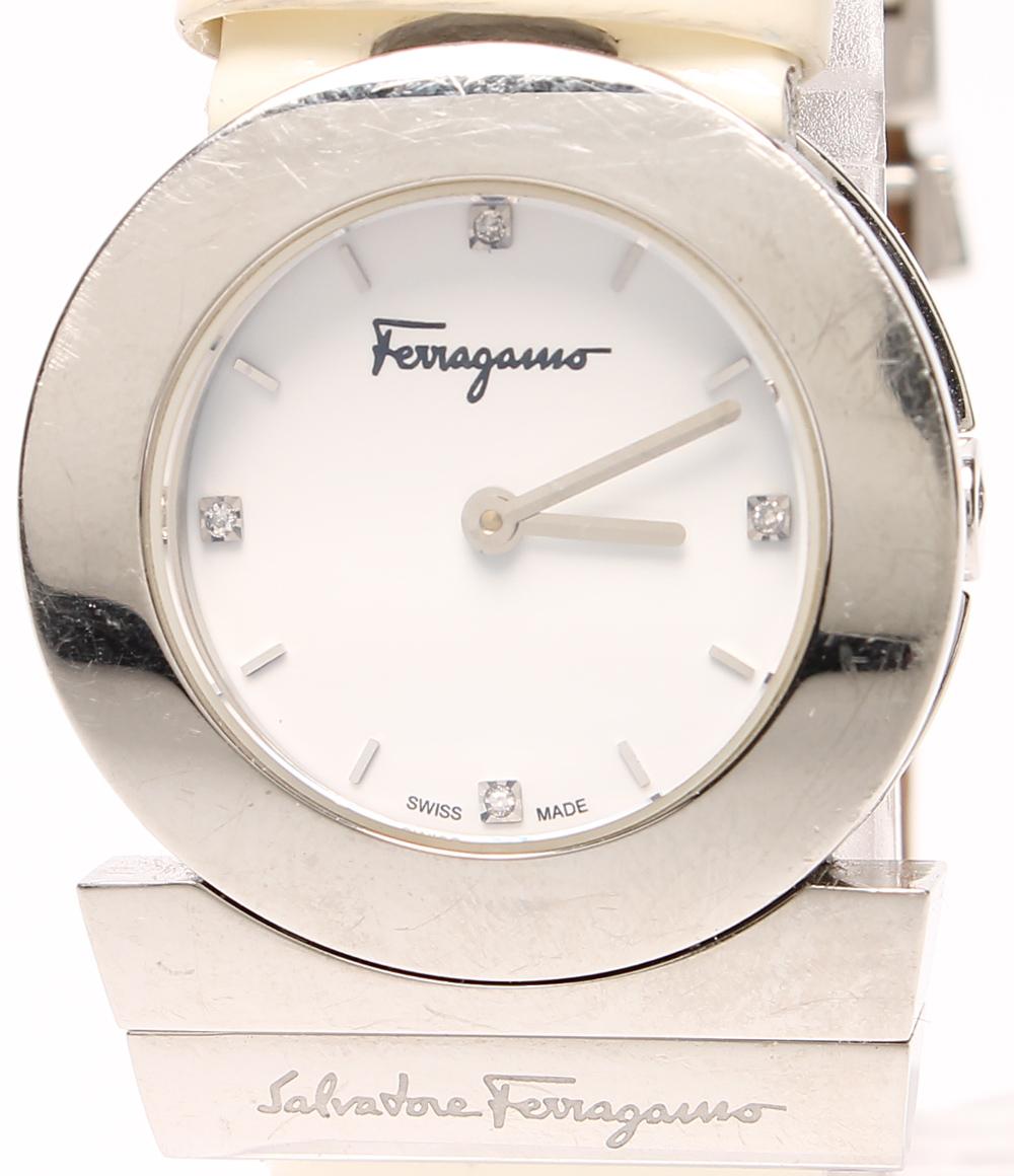 サルバトーレフェラガモ 腕時計 F56(K0805) クォーツ Salvatore Ferragamo レディース 【中古】