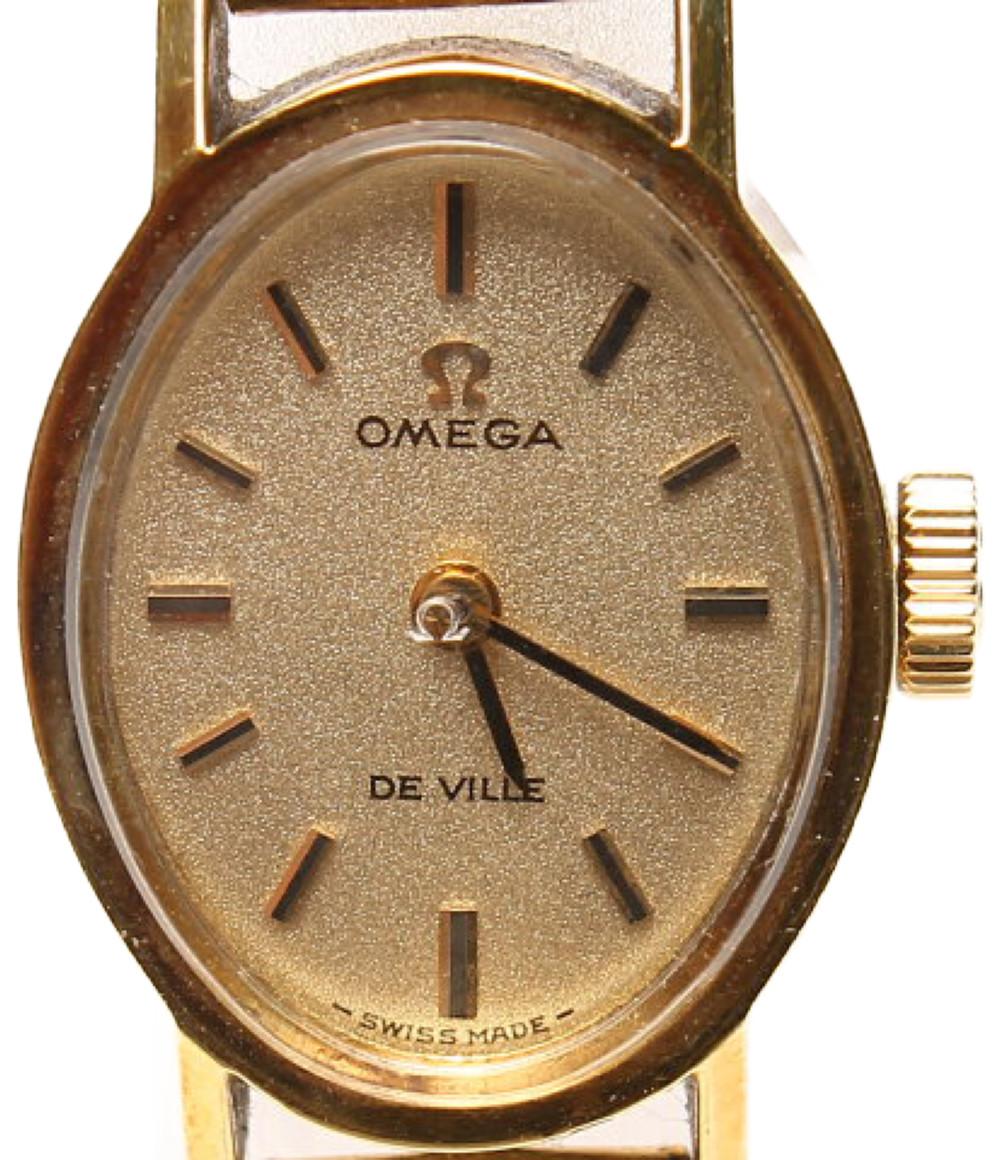 訳あり オメガ 腕時計 デビル 手動巻き OMEGA レディース 【中古】
