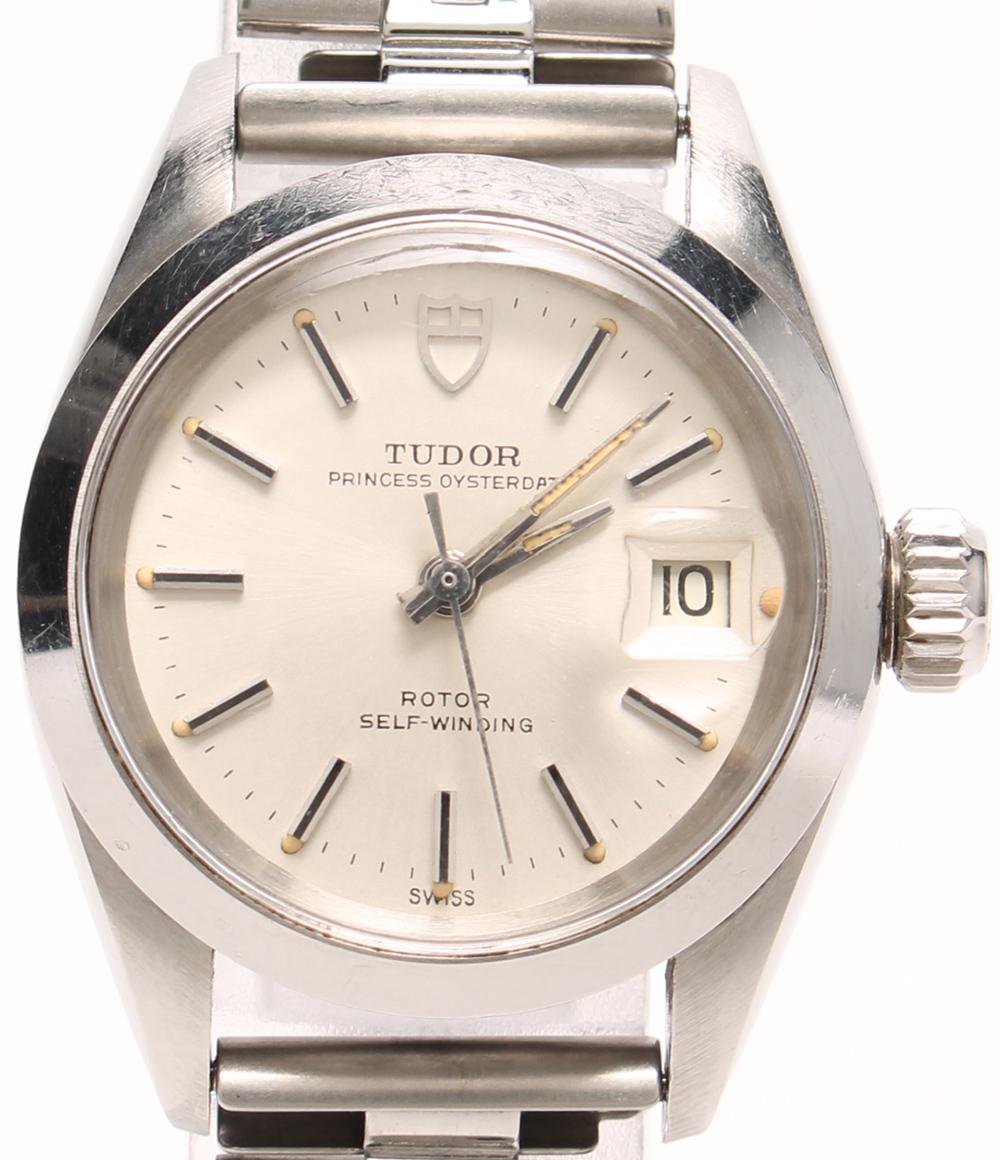 チュードル 腕時計 プリンセスオイスターデイト 7616/0 自動巻き シルバー TUDOR 【中古】