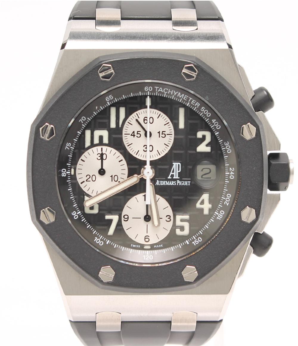 美品 オーデマピゲ 腕時計 25940SK/O/0002CA/01 自動巻き ブラック AUDEMARS PIGUET メンズ 【中古】