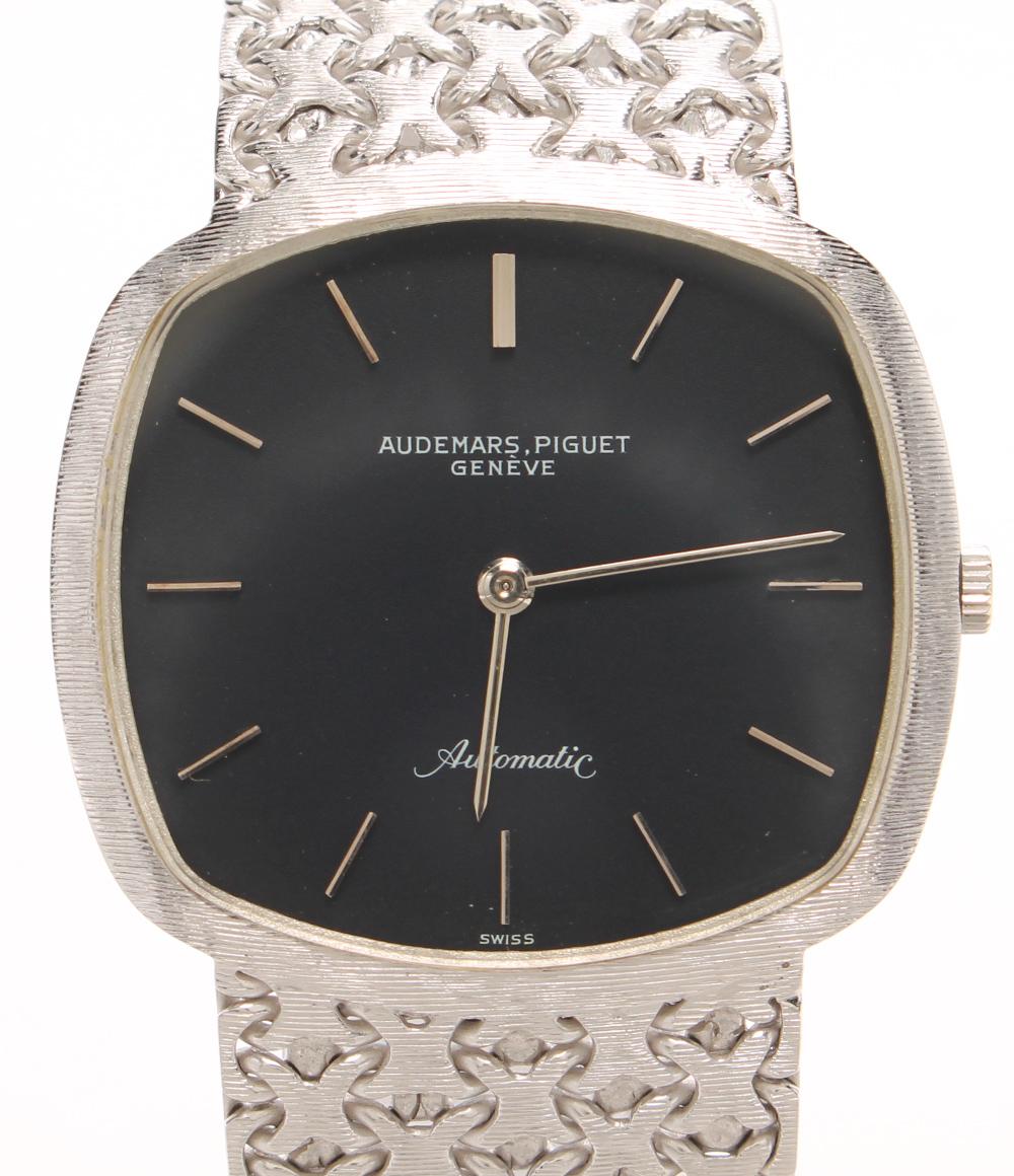 オーデマピゲ 腕時計 K18WG 自動巻き ブラック AUDEMARS PIGUET メンズ 【中古】