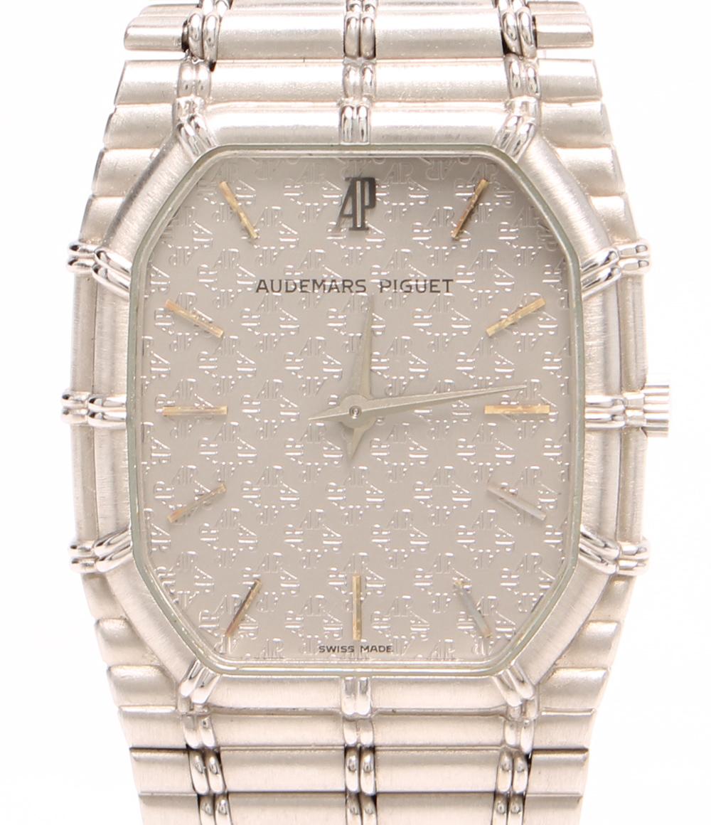 オーデマピゲ 腕時計 K18WG BC4644/614 手巻き シルバー AUDEMARS PIGUET メンズ 【中古】