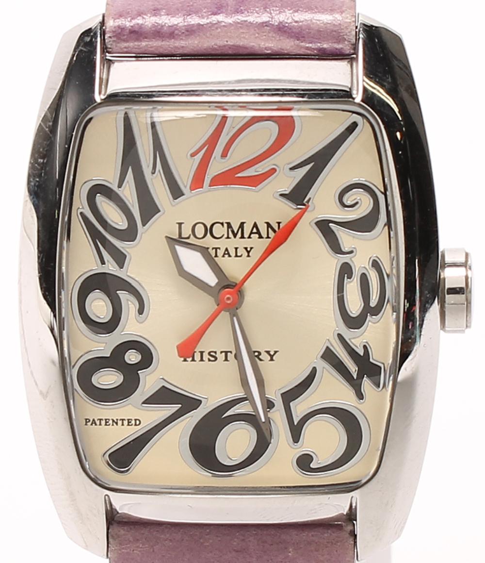 ロックマン 腕時計 488N クォーツ LOCMAN レディース 【中古】