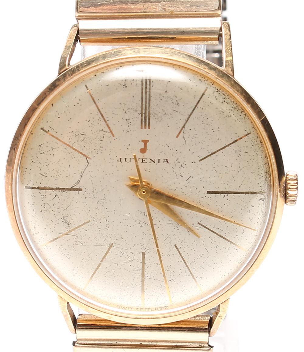 【中古】ジュベニア 腕時計 手動巻き JUVENIA メンズ