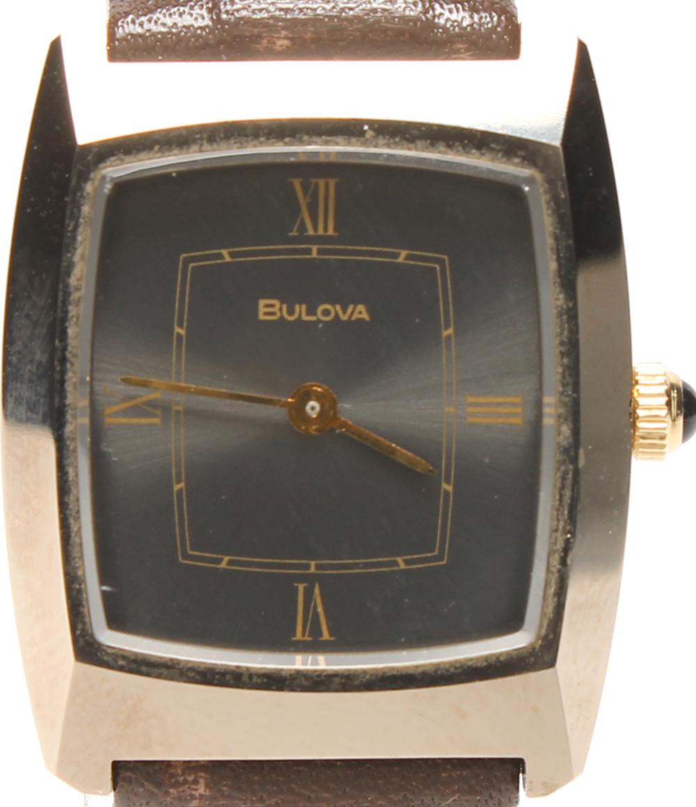 訳あり ブローバ 腕時計 8‐10087(10457) 自動巻き Bulova レディース 【中古】