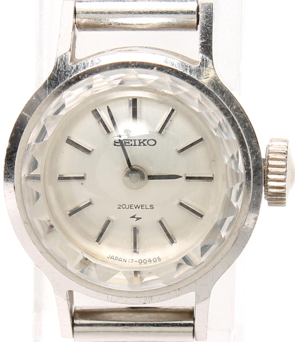訳あり セイコー 腕時計 1700-0020 手動巻き SEIKO レディース 【中古】