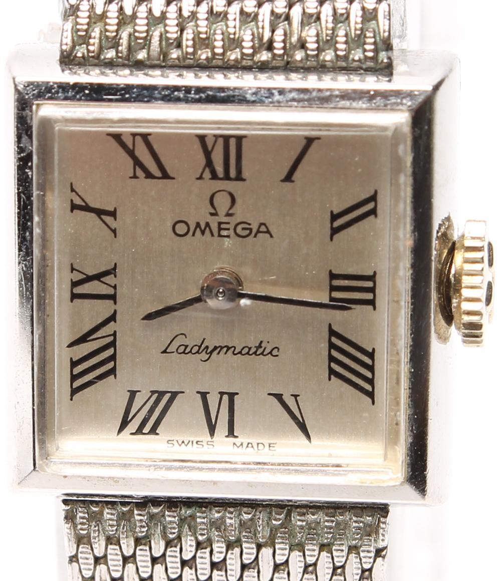 オメガ 腕時計 レディマチック 手巻き OMEGA レディース 【中古】