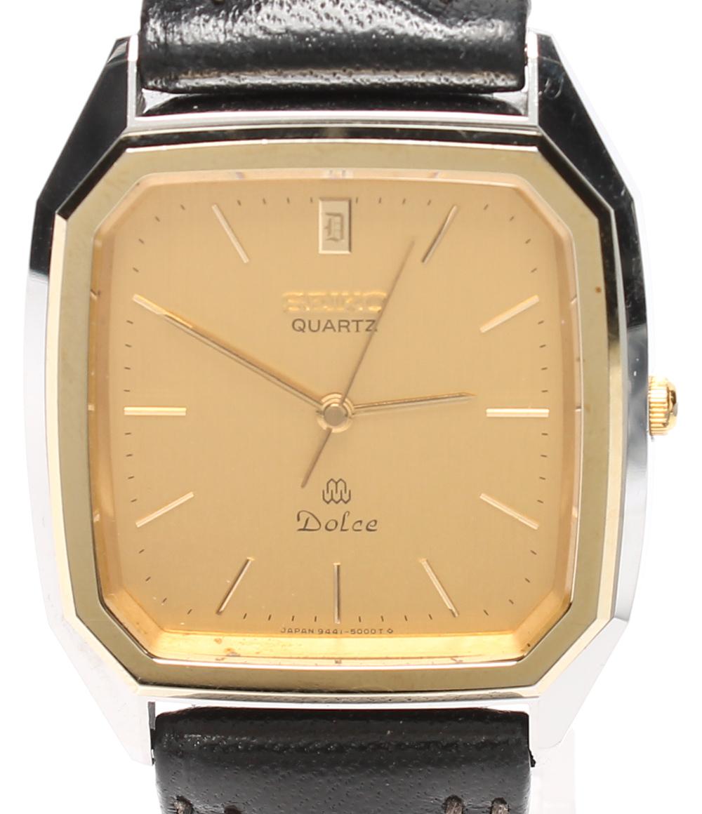 セイコー セイコー 腕時計 Dolce 9411-5000 クオーツ SEIKO メンズ SEIKO【中古 クオーツ】, 真鶴町:005716cd --- cgt-tbc.fr
