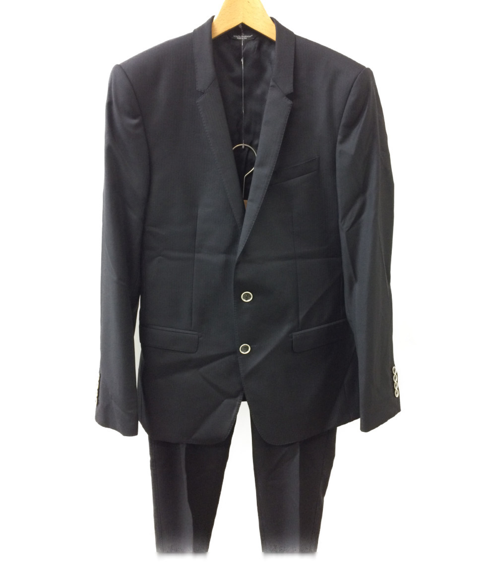 (M) SIZE FC2EC ドルチェアンドガッバーナ 美品 【中古】 46 スーツ DOLCE&GABBANA メンズ G13AMT