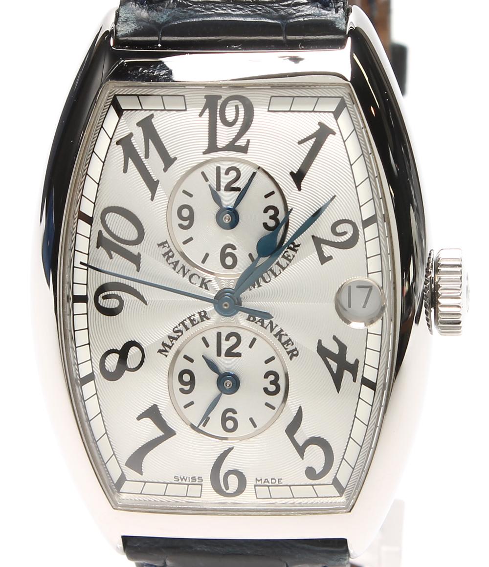 【中古】フランクミュラー 時計 5850MB 自動巻き FRANCK MULLER メンズ
