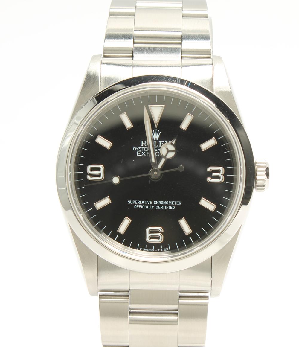 【中古】ロレックス 腕時計 エクスプローラー1 自動巻き 14270 メンズ ROLEX