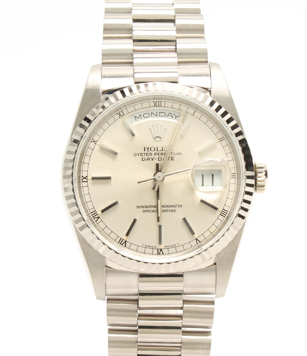 【中古】ロレックス 腕時計 デイデイト 自動巻き 18239 メンズ ROLEX