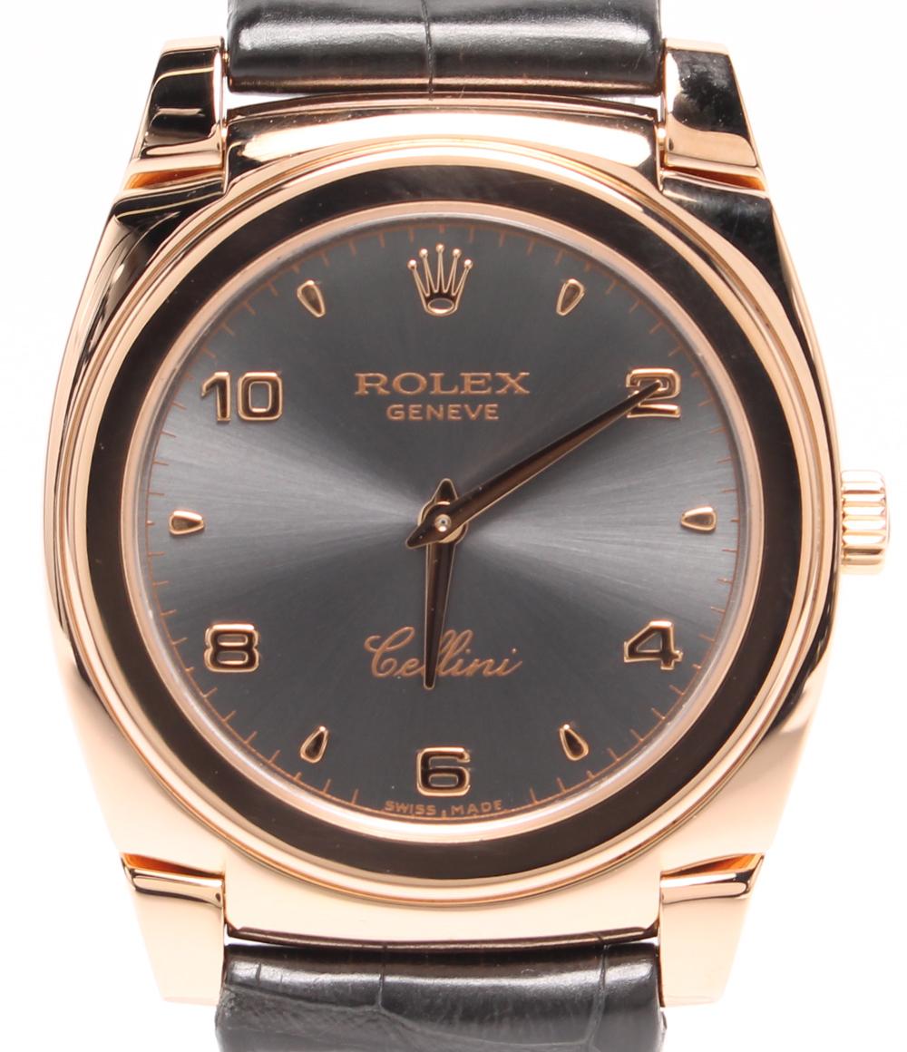 【中古】ロレックス 腕時計 チェリーニ 手巻き 5320 メンズ ROLEX