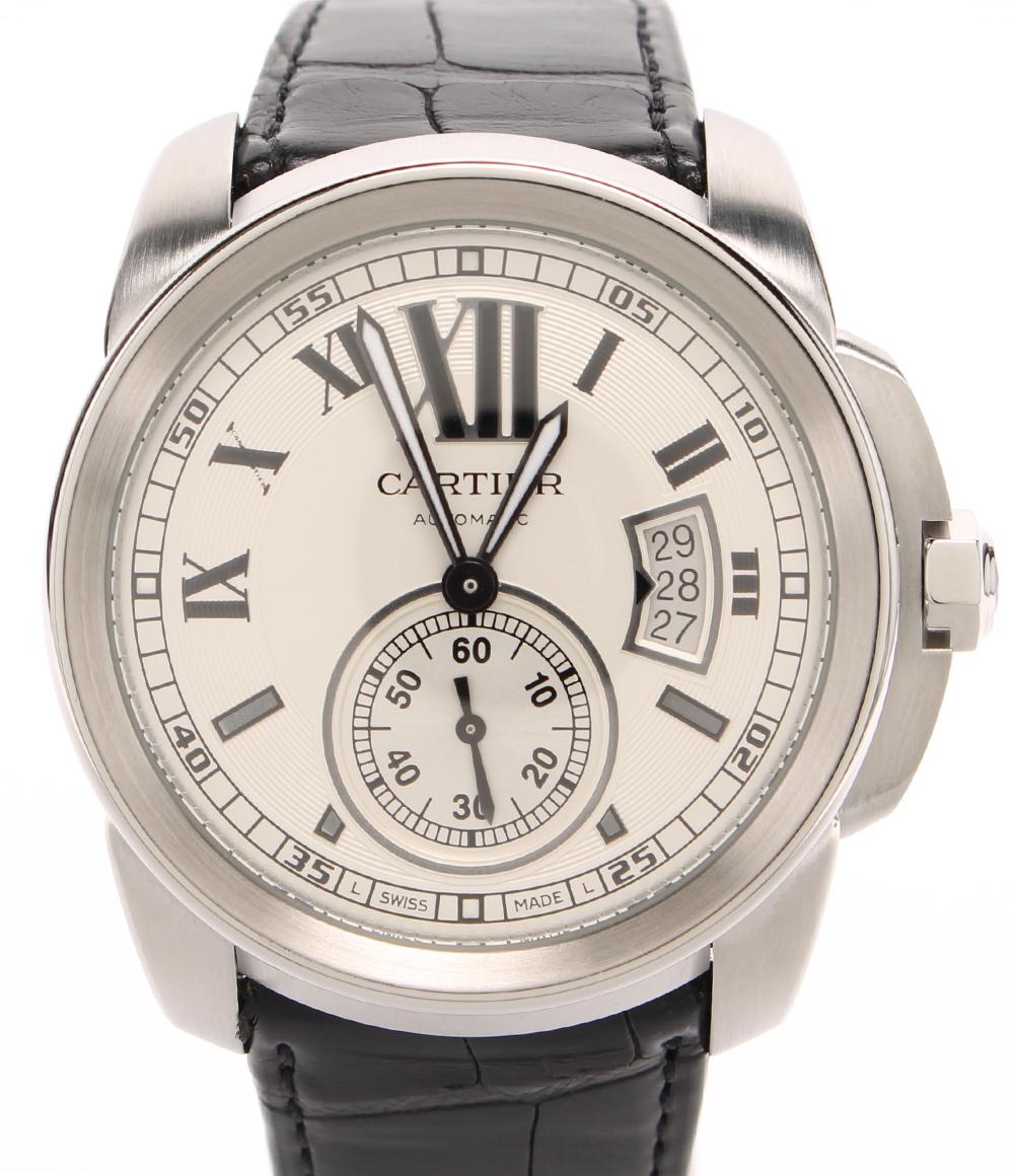【中古】カルティエ 腕時計 カリブル ドゥ カルティエ 自動巻き 3299 メンズ Cartier