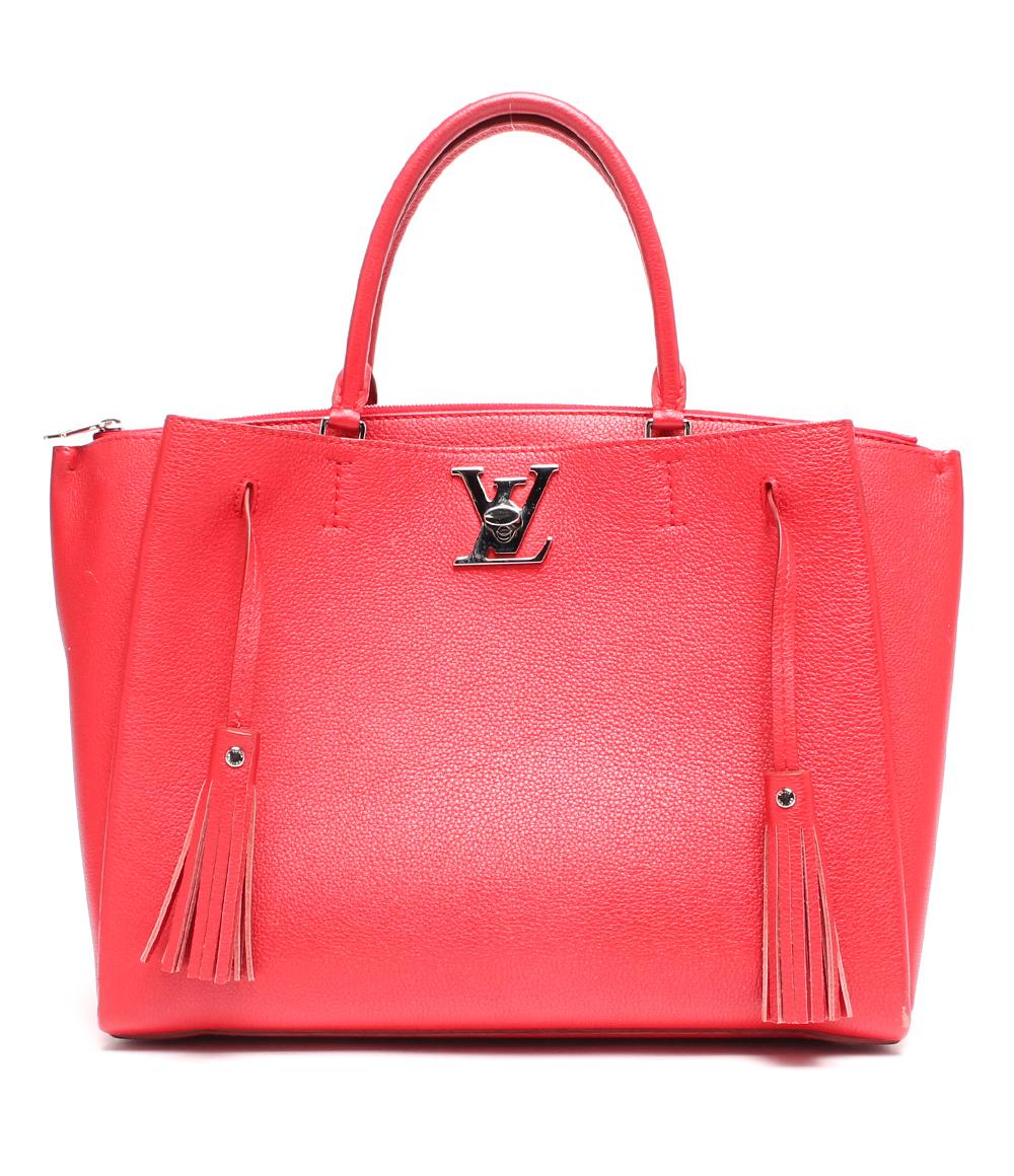 【中古】ルイヴィトン 2wayハンドバッグ ルビー ロックミート カーフレザー M54570 レディース Louis Vuitton
