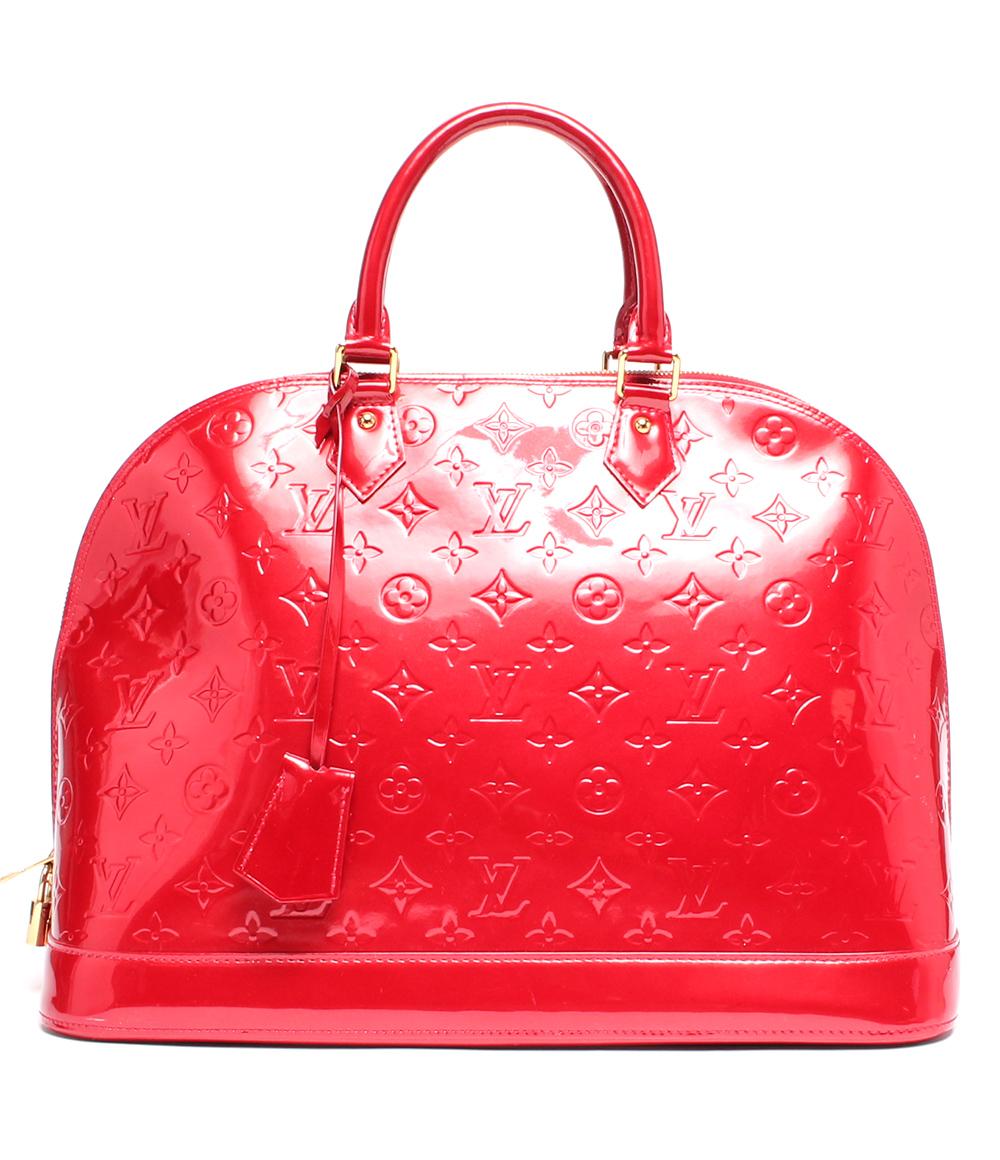 【中古】美品 ルイヴィトン ハンドバッグ ポムダムール アルマGM ヴェルニ M93596 レディース Louis Vuitton