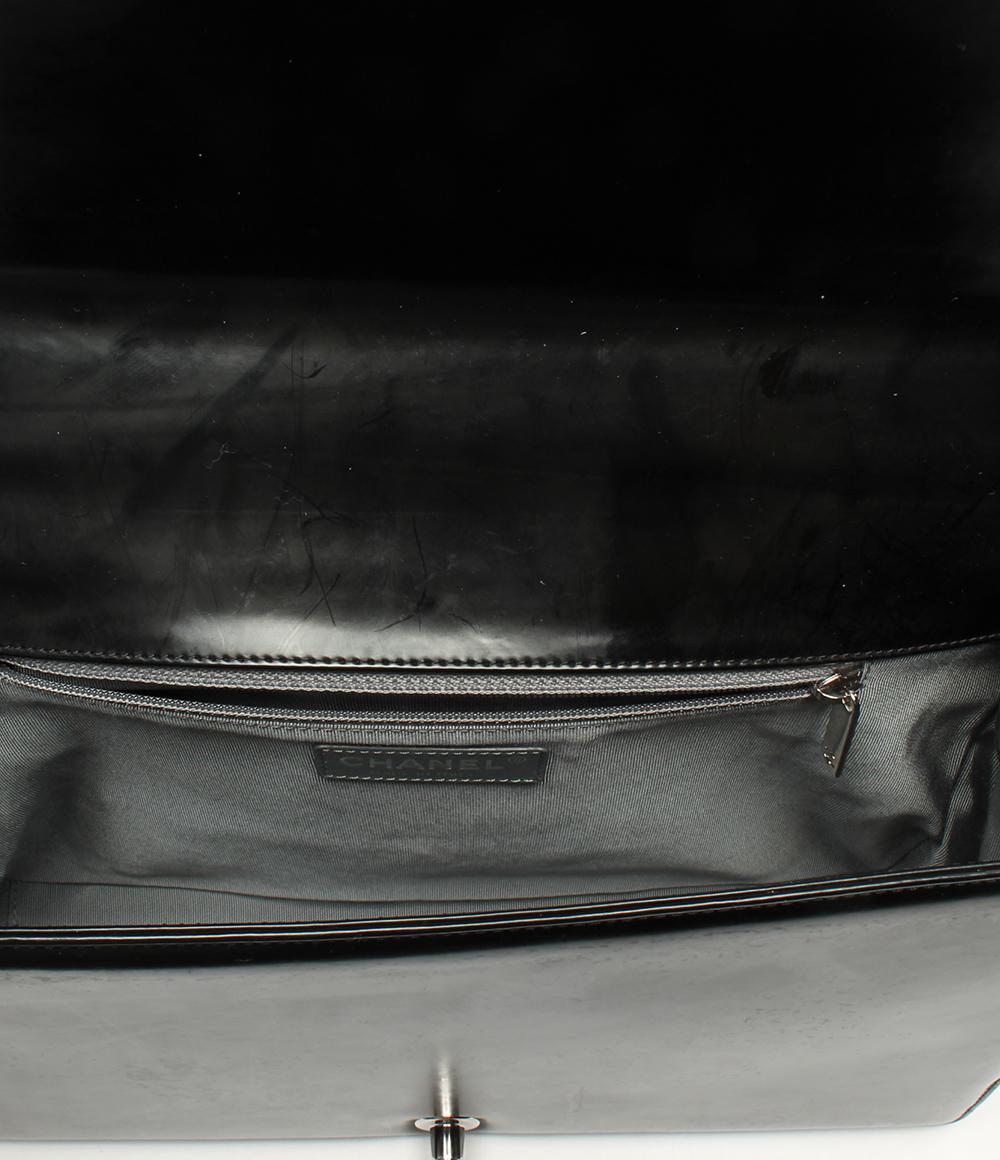 e850c4931a7f ... 美品シャネルボーイシャネルチェーンショルダーバッグラージチェーンショルダーバッグボーイシャネル ...