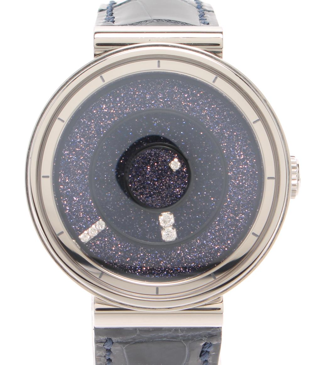 【中古】ブルー 腕時計 ギャラクシー 自動巻き パープル G62/281.10.9/D メンズ blu