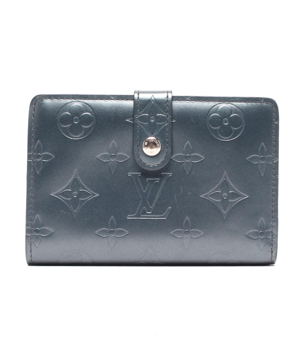 【中古】ルイヴィトン 二つ折り財布 ポルトモネ ビエヴィエノワ モノグラムマット M65155 レディース Louis Vuitton