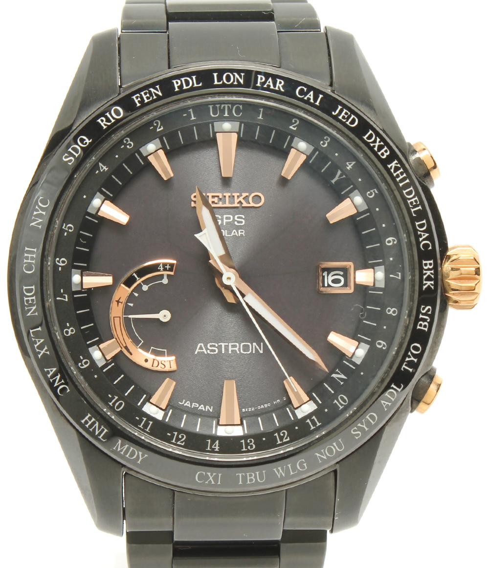 【中古】美品 セイコー 腕時計 アストロン ソーラー 8X22-0AG0-2 メンズ SEIKO