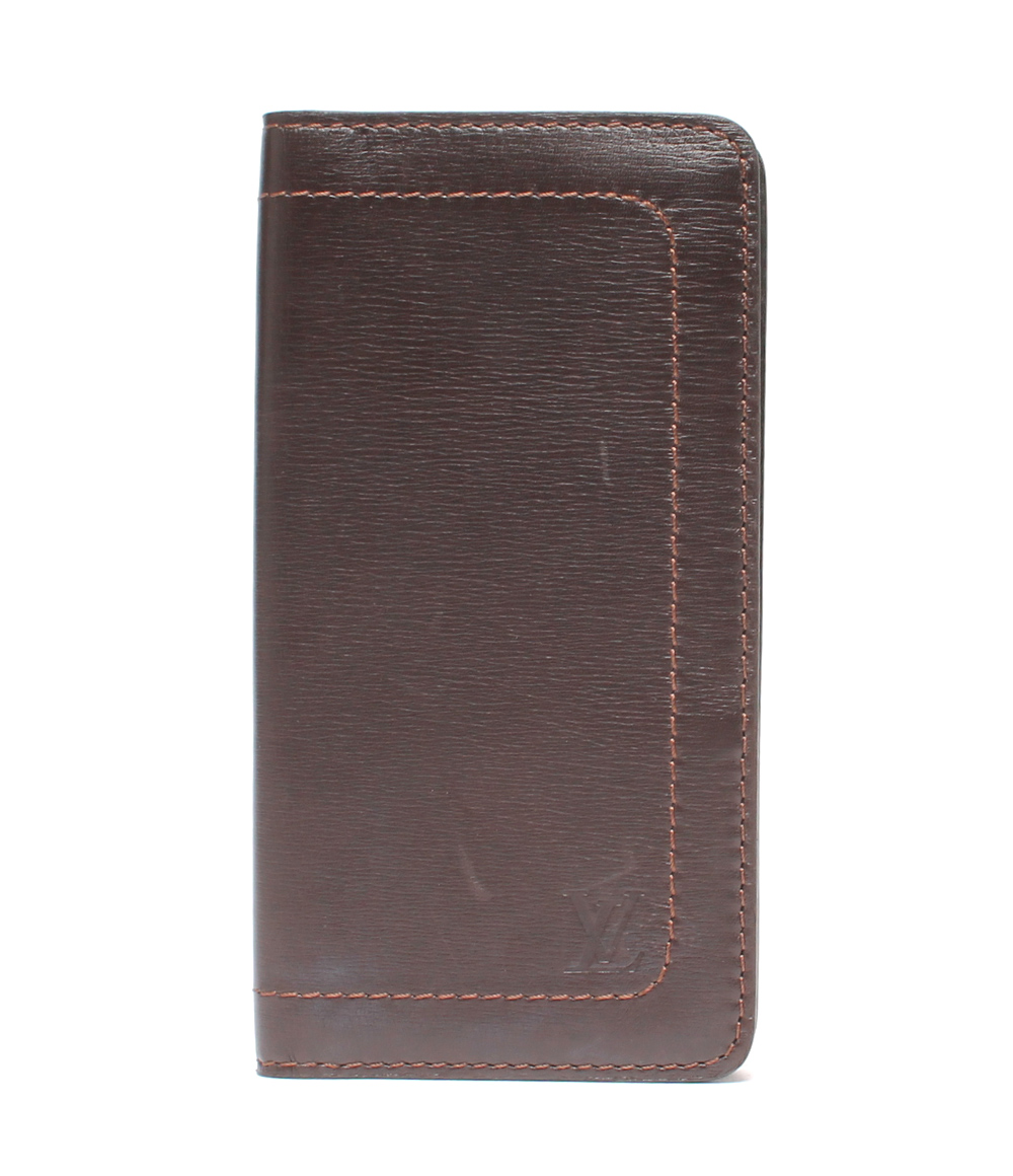 【中古】ルイヴィトン 長財布 ポルトバルールカルトクレディ ユタ M92999 メンズ Louis Vuitton