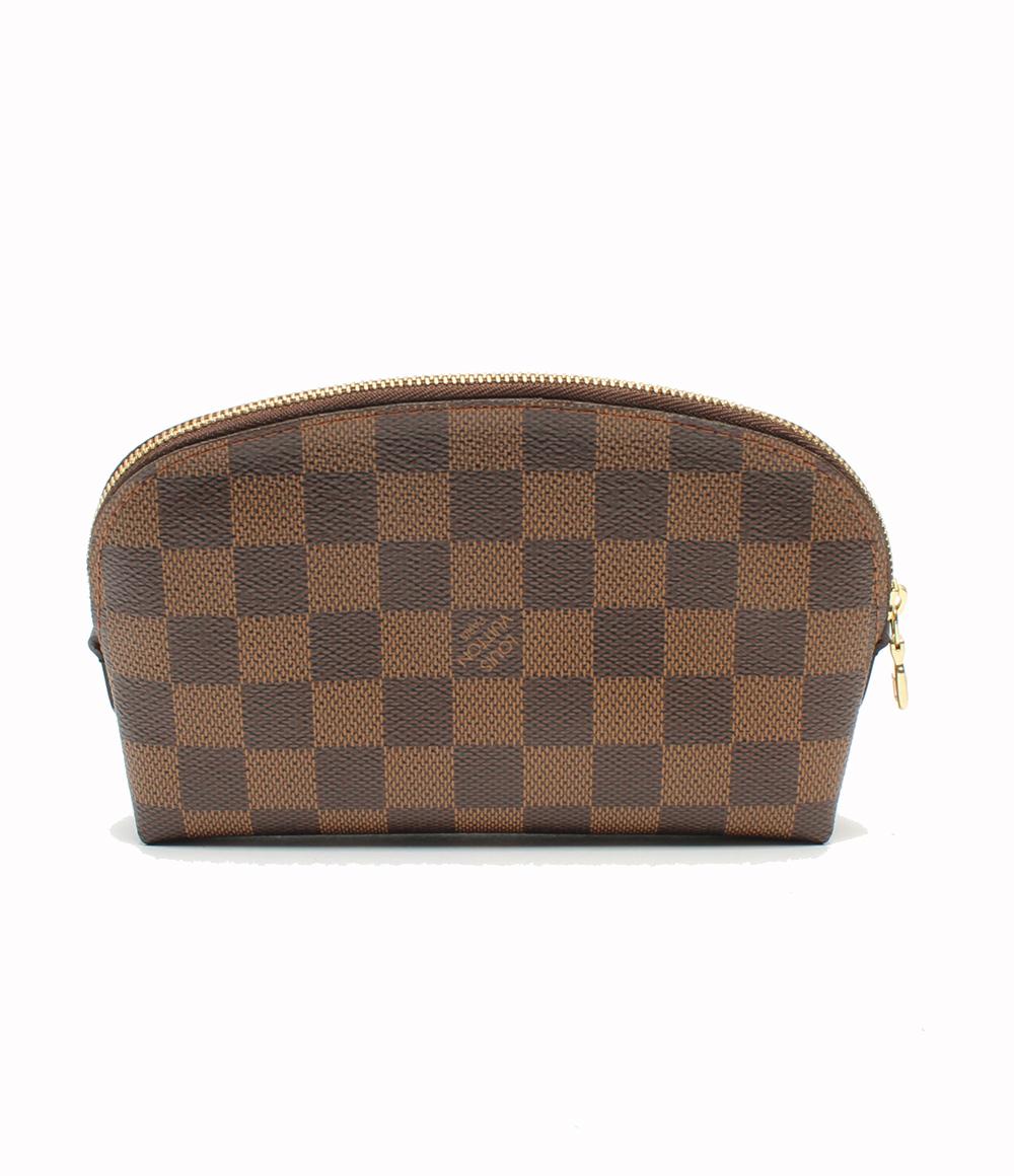 【中古】美品 ルイヴィトン ポッシュコスメティック ポーチ ダミエ N47516 Louis Vuitton レディース