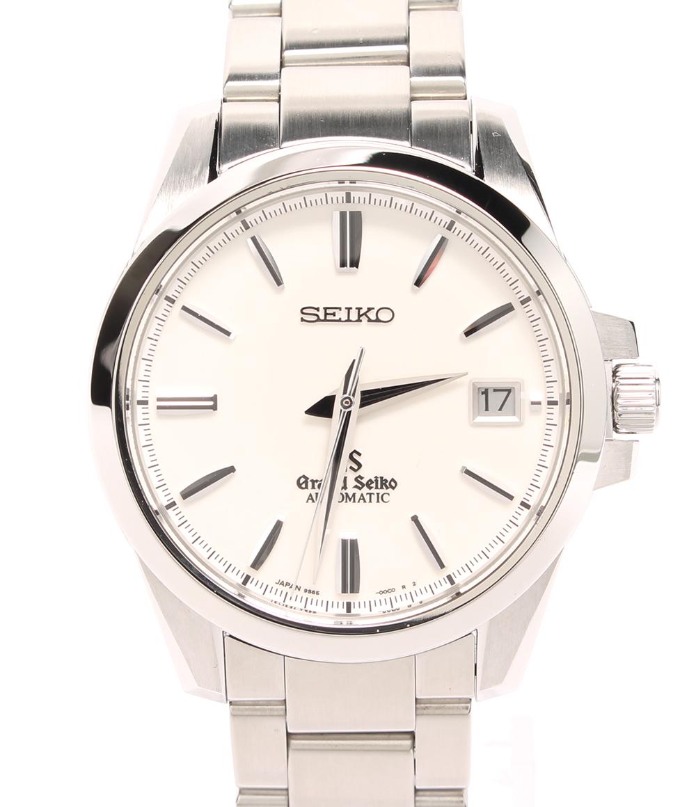 【中古】美品 グランドセイコー 腕時計 自動巻き SBGR055 メンズ Grand Seiko