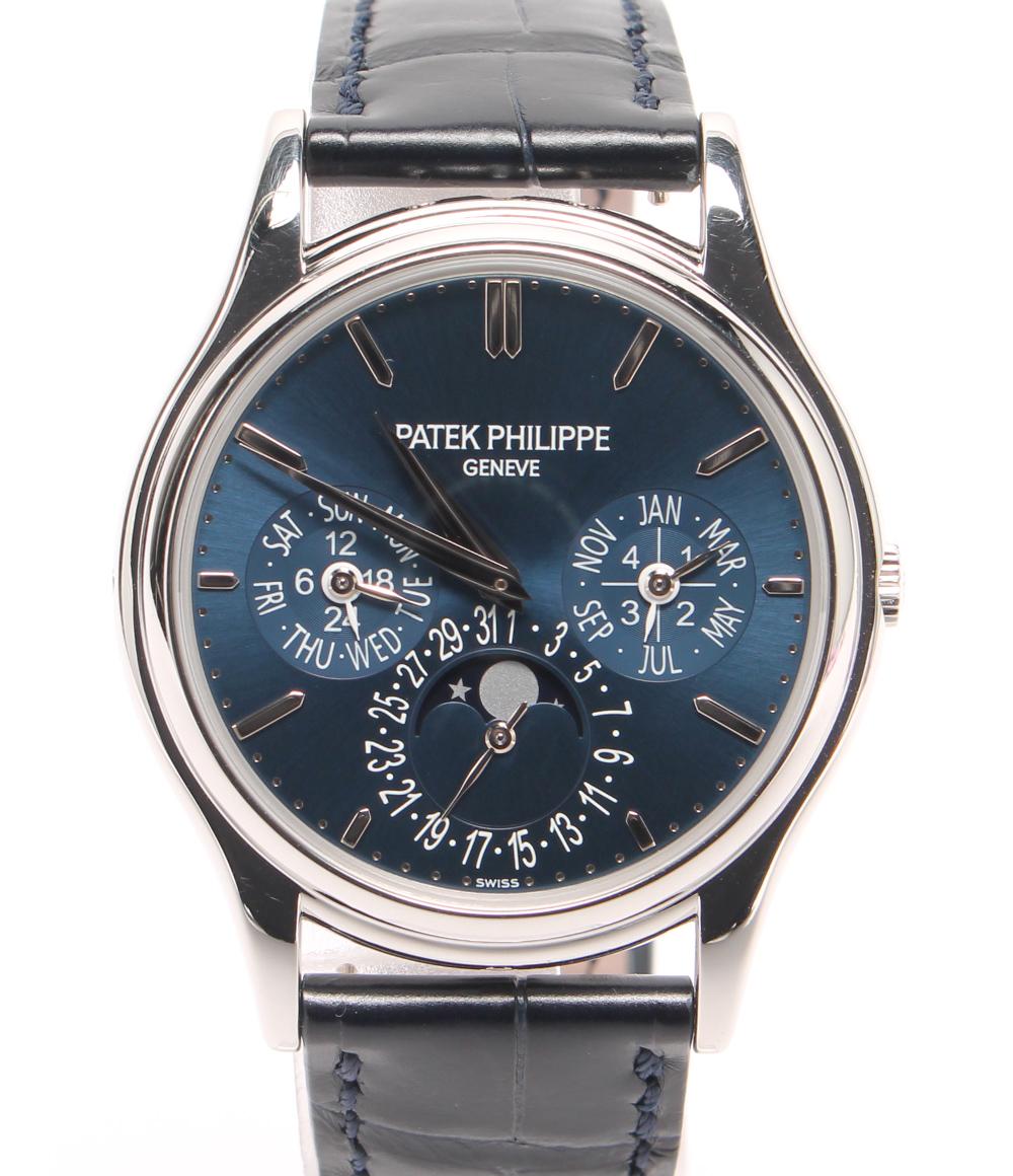 【中古】美品 パテックフィリップ 腕時計 グランド コンプリケーション パーペチュアル 5140Pー001 自動巻き PATEK PHILIPPE メンズ