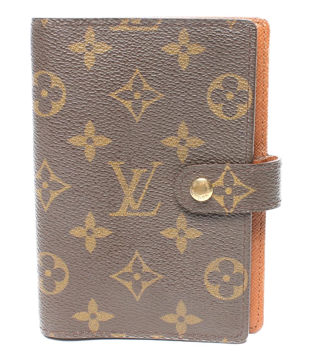 【中古】ルイヴィトン 手帳カバー R20005 R20005/CA0917 モノグラム レディース Louis Vuitton