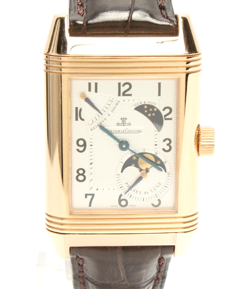 【中古】ジャガールクルト 腕時計 グランドサンムーン 手巻き Q3042420 メンズ JAEGER LECOULTRE