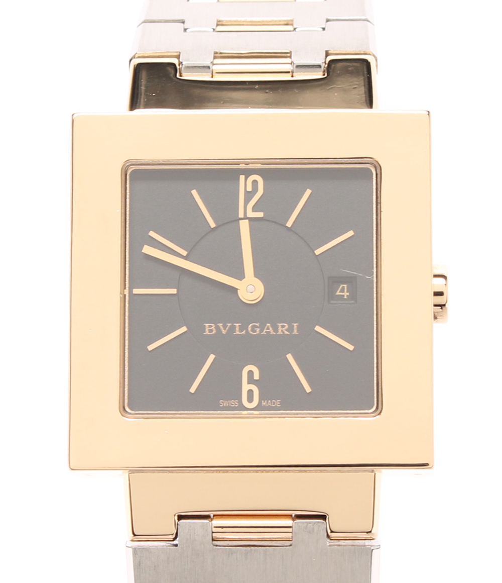 purchase cheap 9cb49 0b066 驚きの値段 【中古】ブルガリ ブラック 腕時計 Bvlgari ...