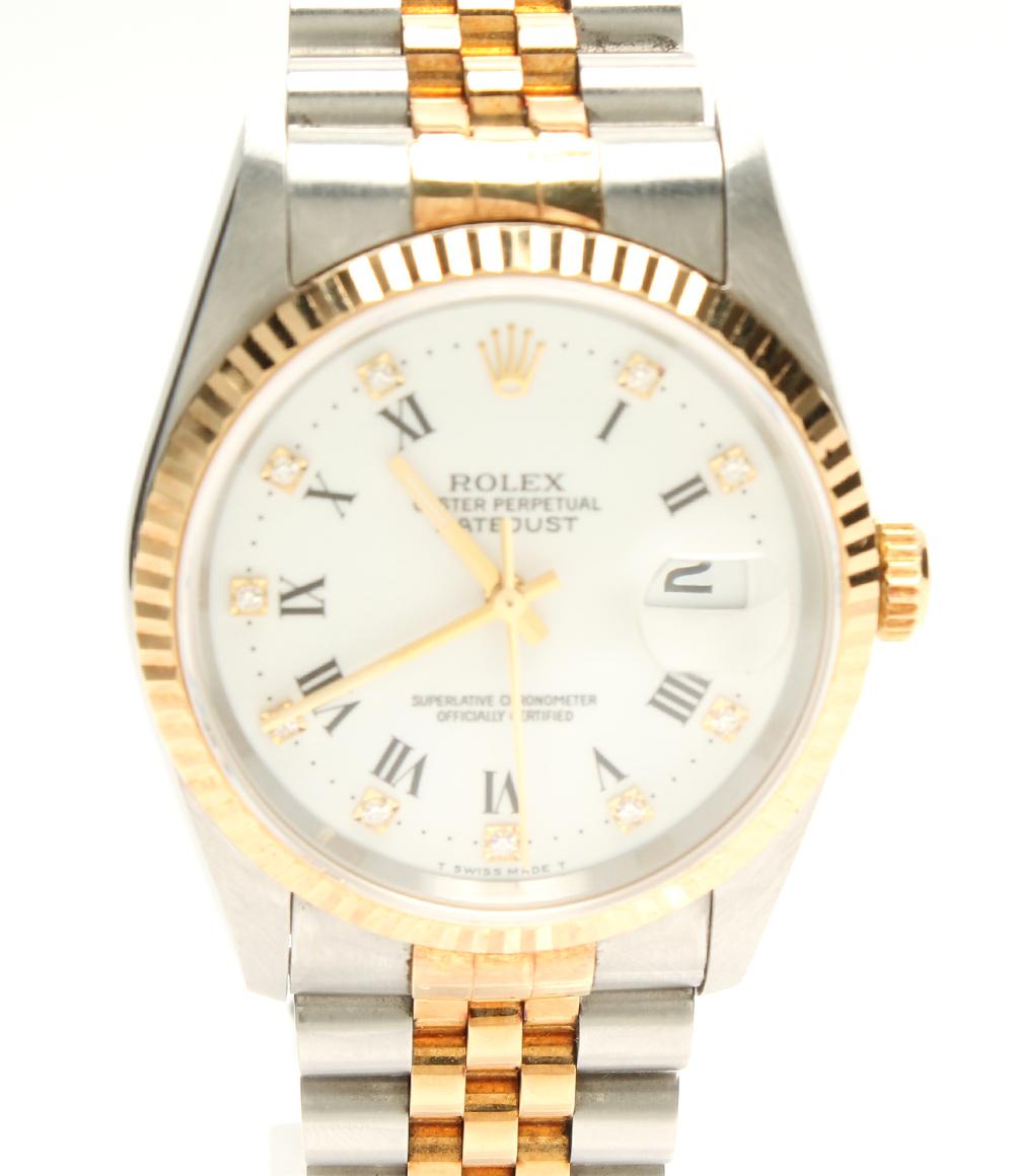 【中古】ロレックス 腕時計 デイトジャスト 自動巻き 16233G メンズ ROLEX