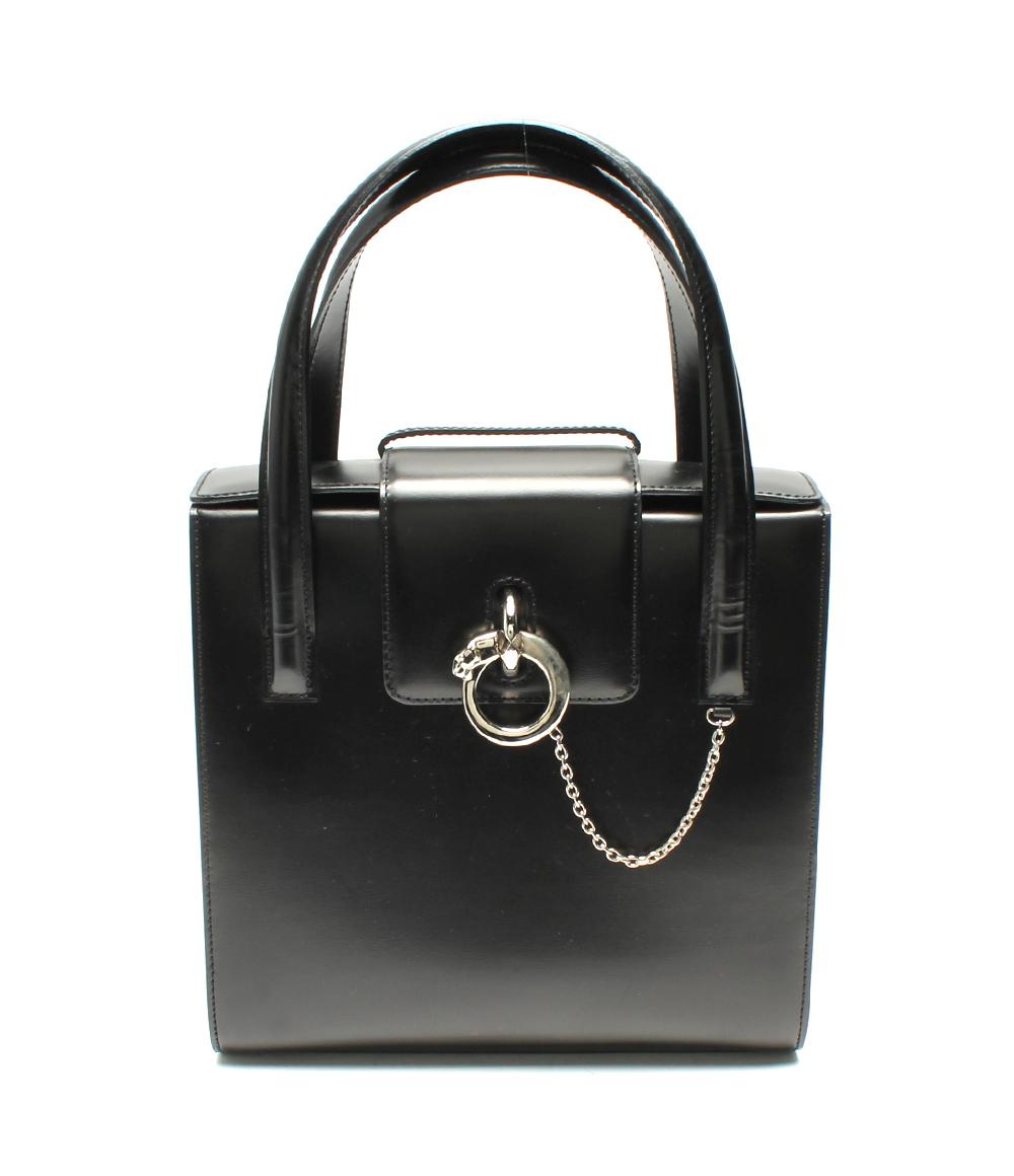 【中古】カルティエ 2WAYバッグ パンテール レディース Cartier
