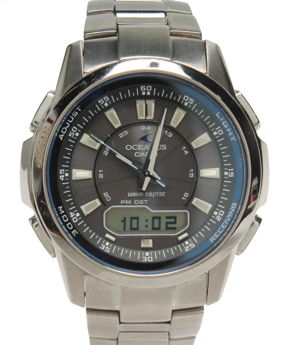 【中古】カシオ 腕時計 オセアヌス 電波 4782 メンズ CASIO