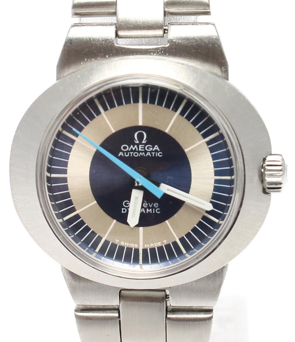 【中古】オメガ 腕時計 ダイナミック 手巻き ブルー レディース OMEGA