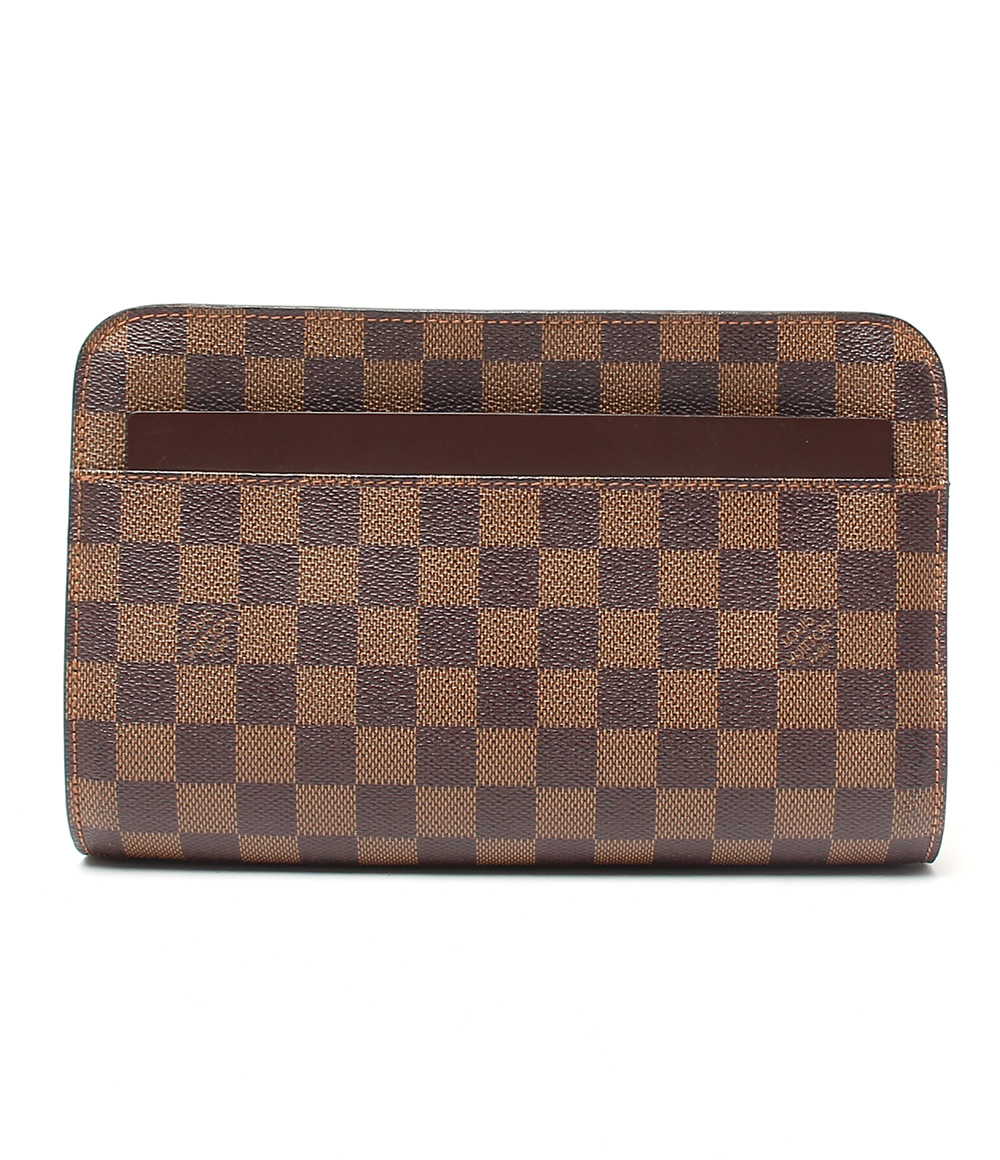 【中古】ルイヴィトン ダミエ サンルイ セカンドバッグ N51993 メンズ Louis Vuitton