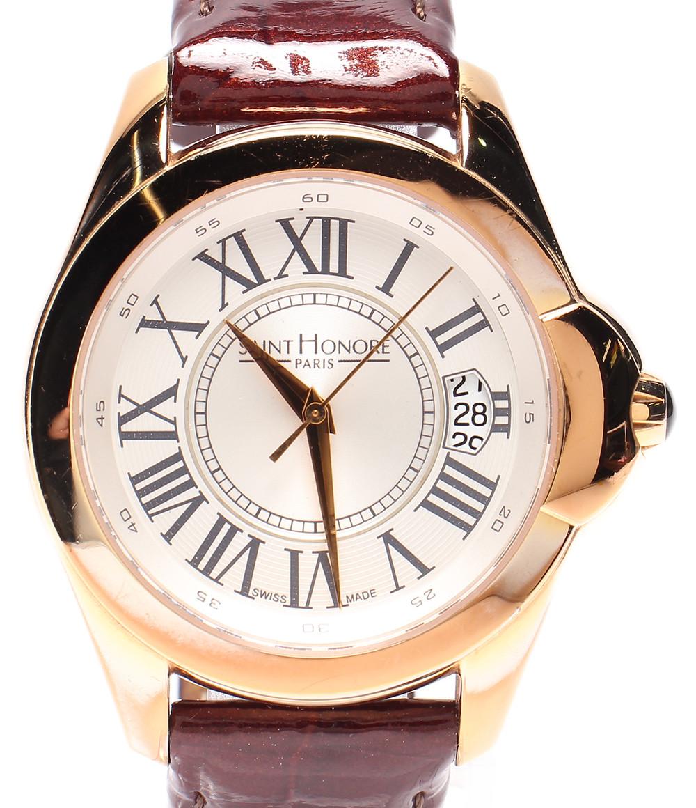 【中古】サントノーレ 腕時計 コロッセオ クオーツ 766030.8 メンズ SAINT HONORE