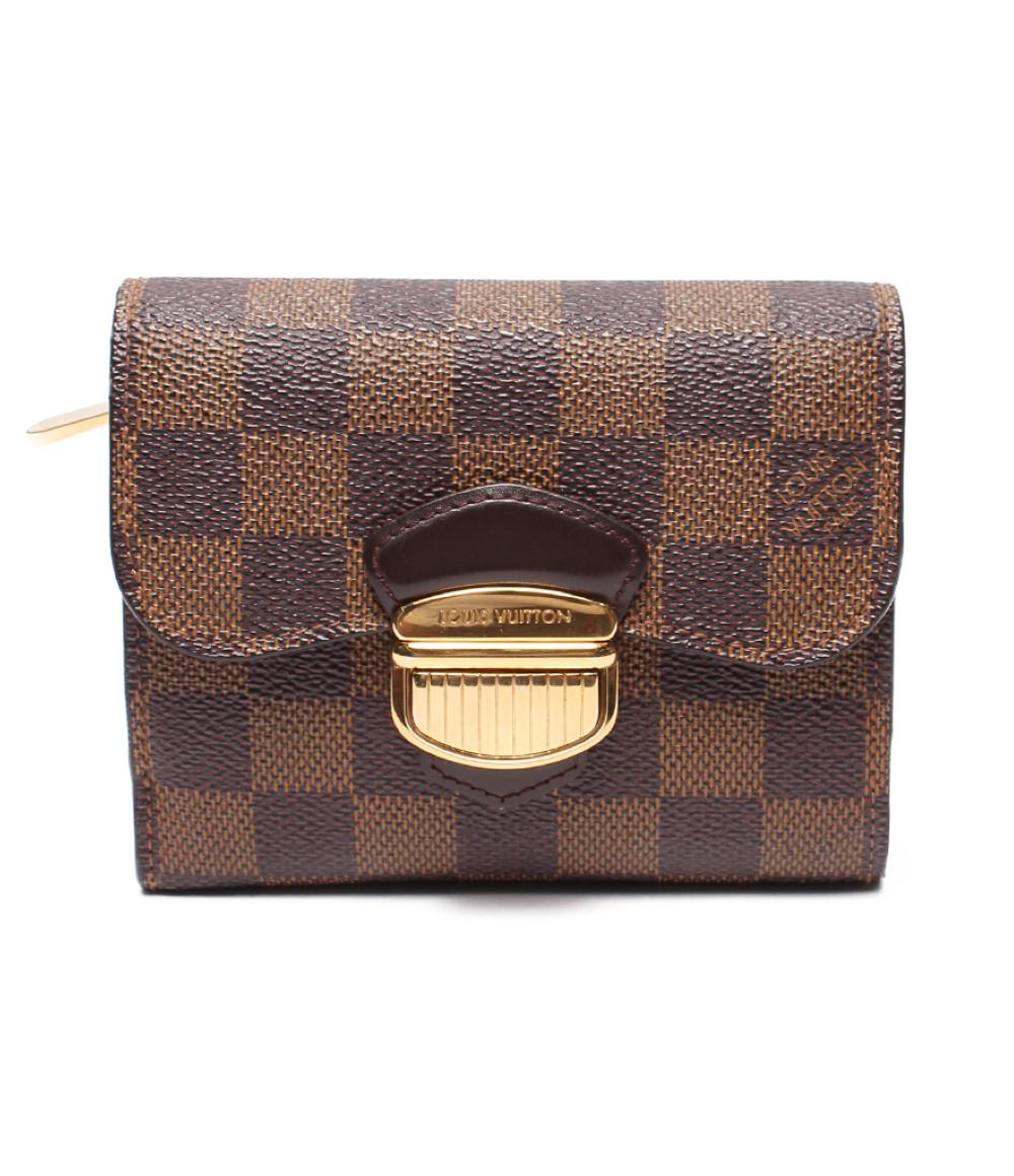 【中古】ルイヴィトン 財布(ポルトフォイユ ジョイ) ダミエ N60034 レディース Louis Vuitton