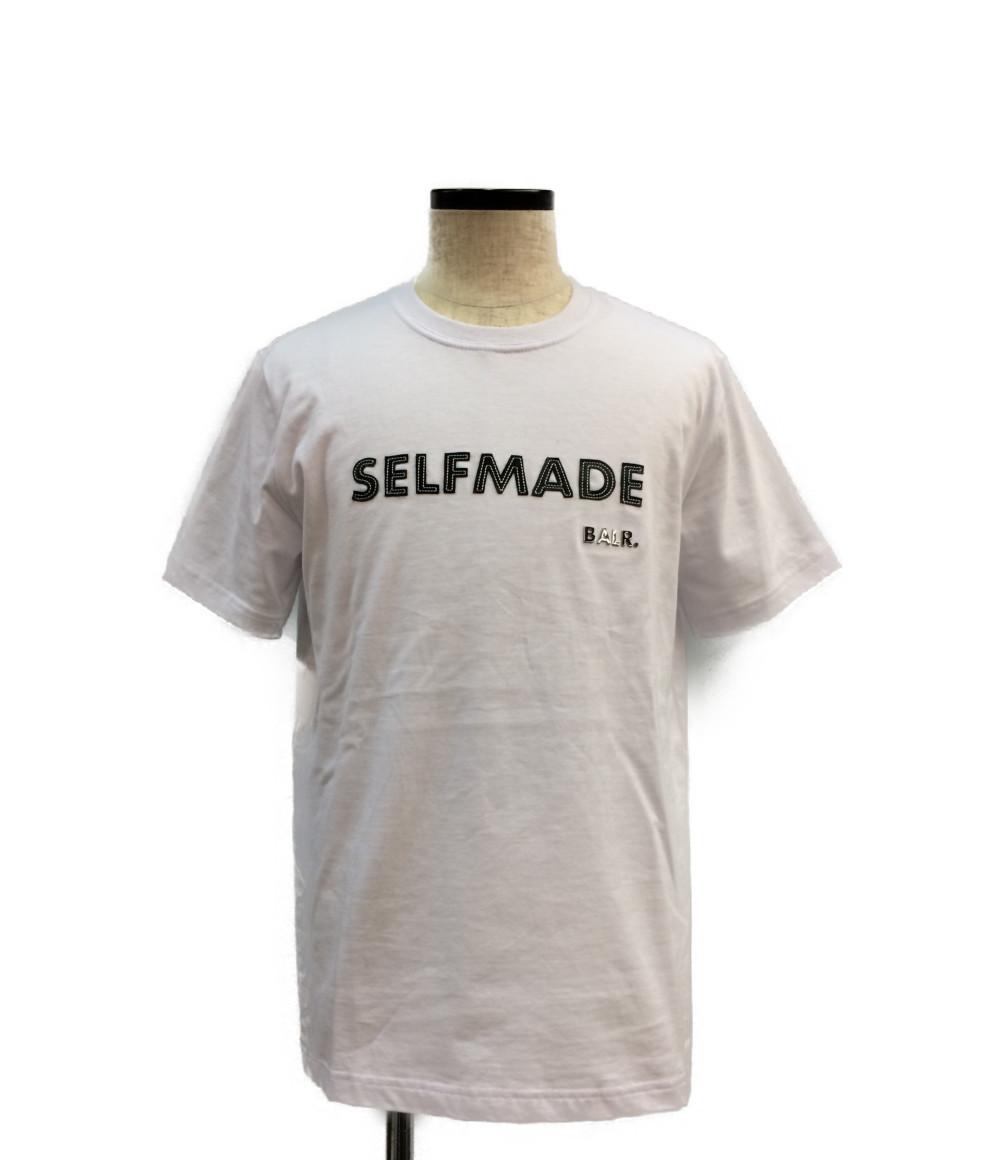 【中古】ボーラー 半袖ロゴTシャツ 19SS SELFMADE メンズ SIZE S (S) BALR